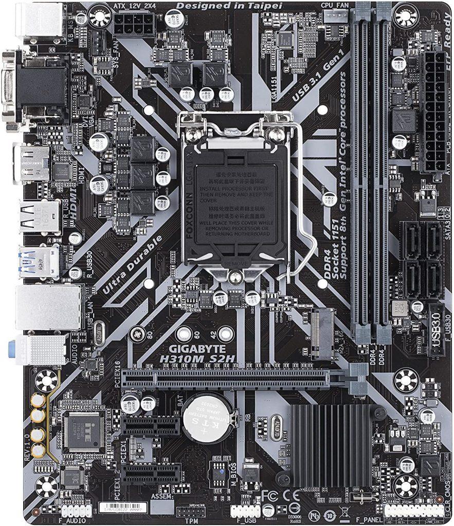 Gigabyte H310m-S2h