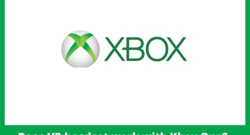 Does VR headset work with Xbox One