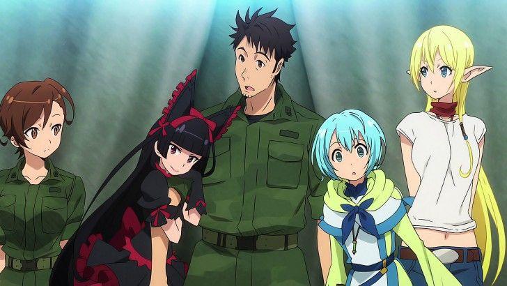 Gate Anime Season 3 Characters