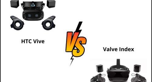 HTC Vive vs Valve Index