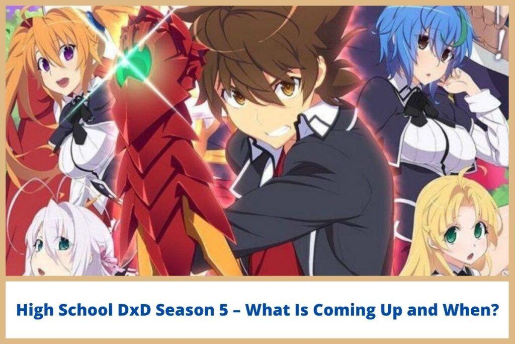 High School DxD Season 5