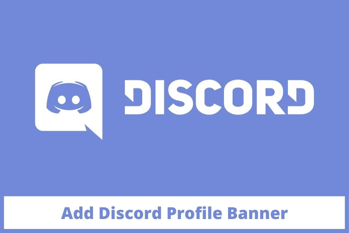 Add Discord Profile Banner