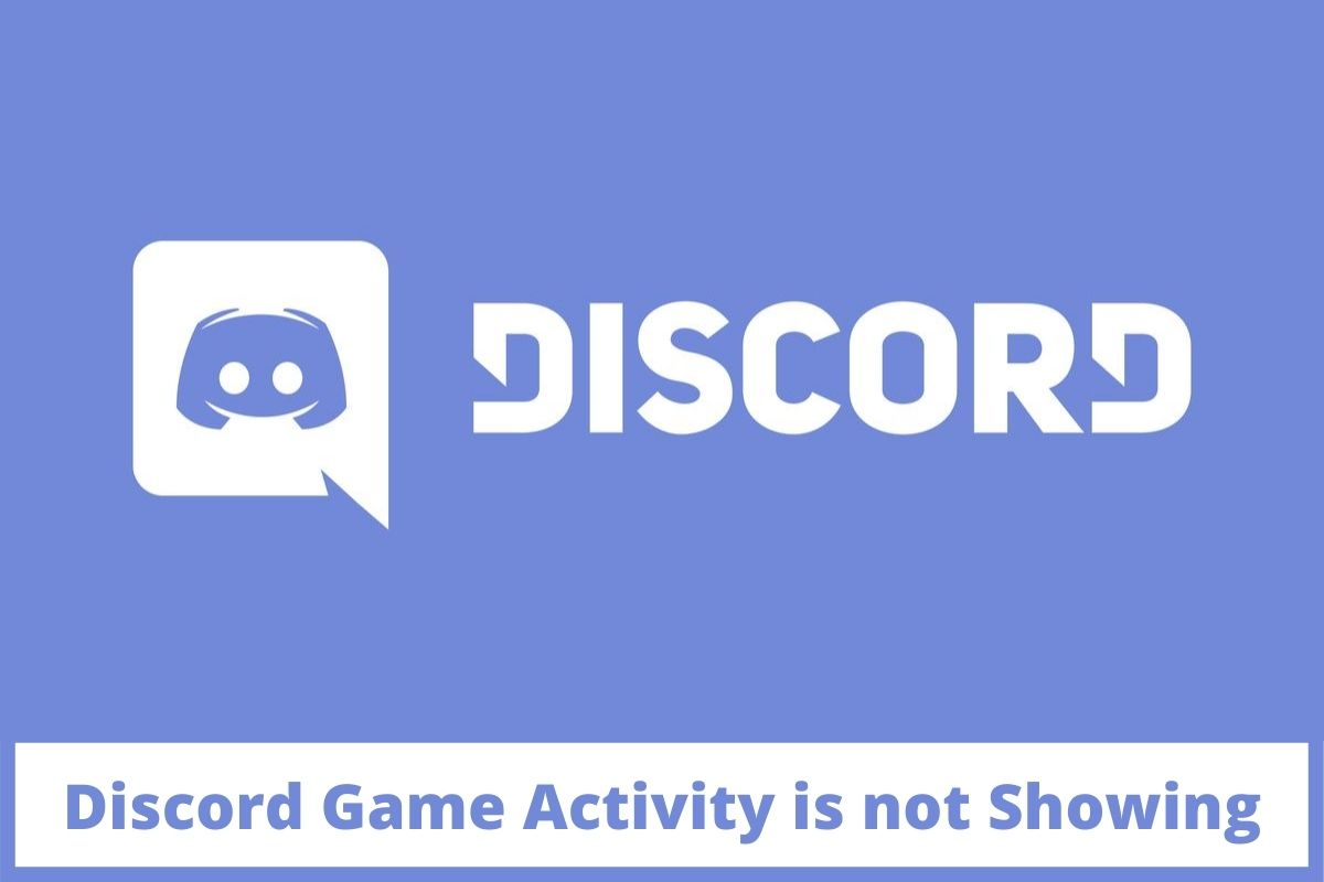 Discord Game Activity is not Showing