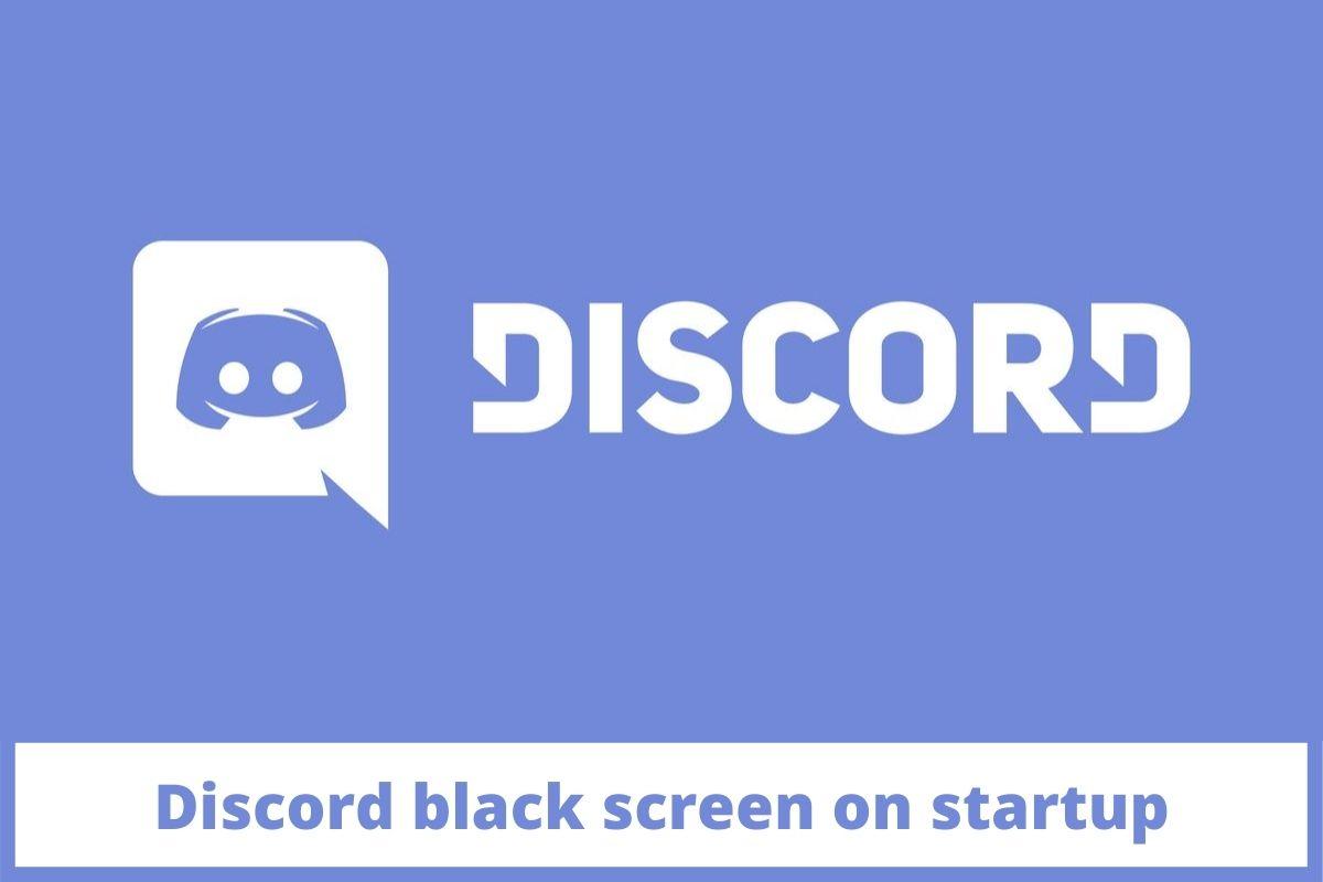 Discord black screen on startup