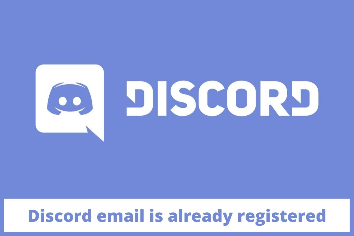 Discord email is already registered