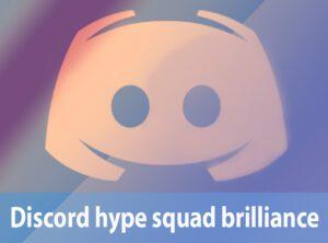 Discord hype squad brilliance 2