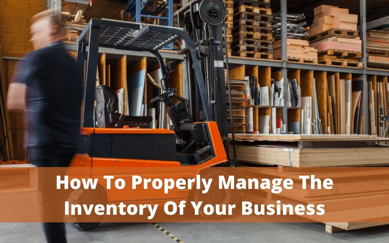 Manage The Inventory Of Your Business