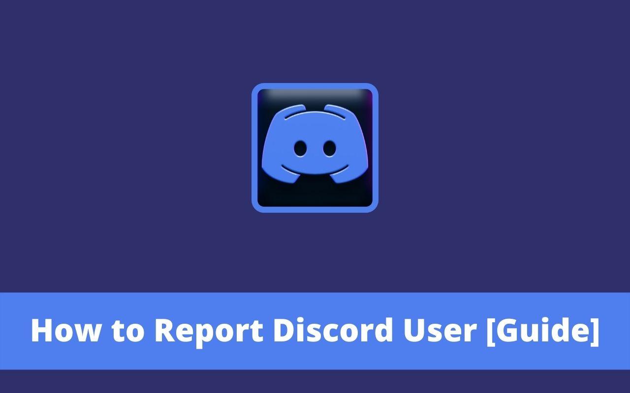 Report Discord User